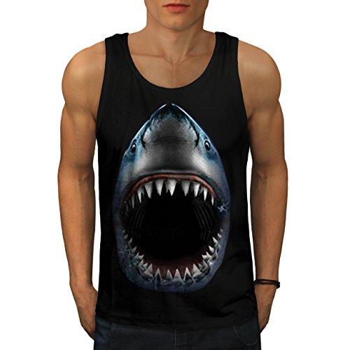 Shark Jaw Attack Sea Predator Men NEW M Tank Top | Wellcoda