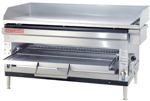 Grindmaster-Cecilware HDB2031-LP Liquid Propane Gas Steel and Stainless Steel Griddles/Cheese Melter, 60000 BTUs/Hour (Propane Melter compare prices)
