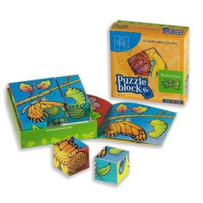 Butterflies Puzzle Block - 1