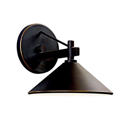 Kichler Lighting 49059OZ Ripley Light Outdoor Wall Lamp, Olde Bronze