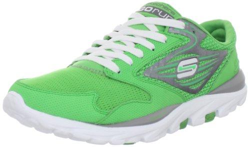 Skechers Women's Go Run Sports Shoes - Fitness 13500 Grn Green 3 UK