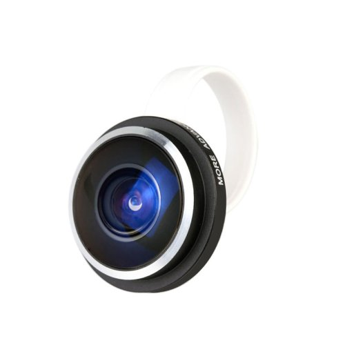 Docooler Universal Super Fish Eye Lens 235° Clip For Ipone/Samsung/Htc/Lg (235°)