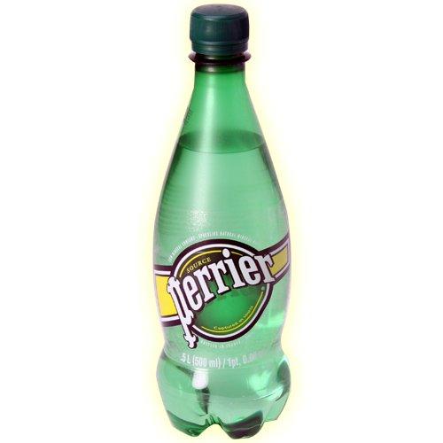 ペリエ プレーン ナチュラル 炭酸水 500ml ペットボトル ペリエ(Perrier)  【24本セット】 [並行輸入品]