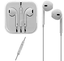 APPLE MD827FE/A EARPODS WITH REMOTE AND MIC