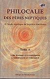 echange, troc Abadie P - Philocalie des Peres Neptiques T.A3