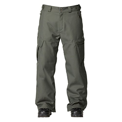 Quiksilver Snow Men's Bridger Pant, Ivy, Medium