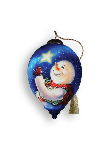 """Ne'Qwa Ornament """"Frosty Magic"""", 3-Inches Tall, Designed by noted artist Dona Gelsinger"""
