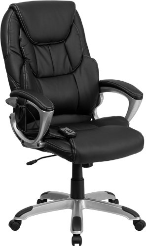flash-furniture-high-back-massaging-black-leather-executive-office-chair-with-silver-base-by-flash-f