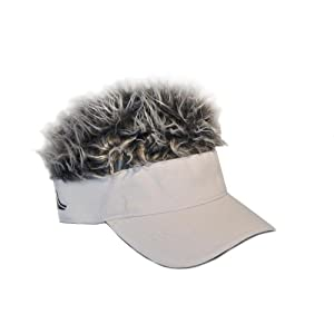 Flair Hair Gray Hair Visor