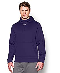 Under Armour Men\'s UA Storm Armour Fleece Team Hoodie Large Purple
