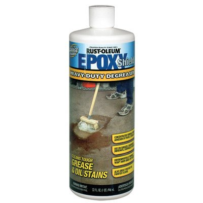 Rust-Oleum 214382 EPOXYShield Heavy-Duty Degreaser, 32-Ounce