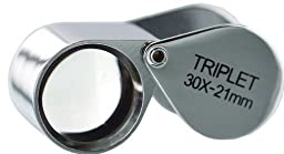 Grandindex Jewelry Loupe Magnifier Gm-3021a with 30x Magnification,great Jewelry Loupe