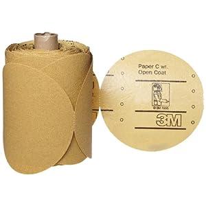 3M 3M-86488 Abrasive Paper Roll Grade - P80, Diameter - 5: Psa Discs