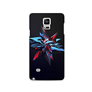 TAZindia Printed Hard Back Case Cover For Samsung Galaxy Note 4