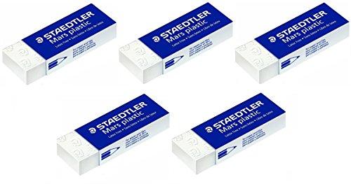 5-x-staedtler-mars-plastic-pencil-eraser-rubbers-school-office-drawing
