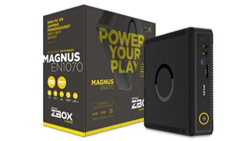 ZOTAC ZBOX MAGNUS EN1070 Gaming Mini PC, Intel Skylake Core i5-6400T, NVIDIA GeForce GTX 1070 Graphics VR Ready, Whisper Quiet, Ultra Compact, 4K Quad Display, No Memory/Storage/OS (ZBOX-EN1070-U) (Zotac Quad compare prices)