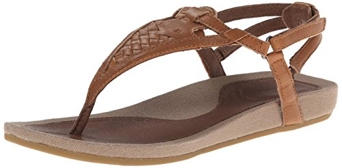 Teva Women'S Capri Sw Slide Sandal,Toffee,8 M Us back-1071363
