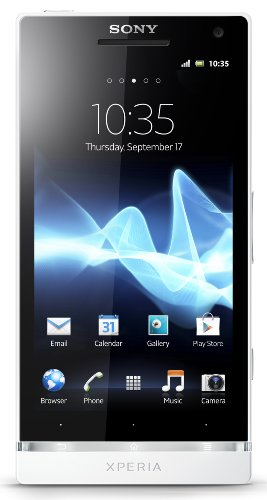 Link to Sony Xperia S LT26i-WH Unlocked Phone with 12 MP Camera, Android 2.3 OS, Dual-Core Processor, and 4.3-Inch Touchscreen–U.S. Warranty (White) SALE