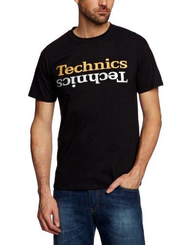DMC Technics Champion Edition Men's T-Shirt Black/Gold/Silver XX Large