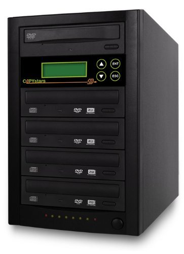 Copystars DVD-Duplicator 24X CD-DVD-Burner жертвуя пешкой dvd