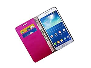 ATV PU Leather PINK Book Case Cover For HTC Desire 820q dual sim