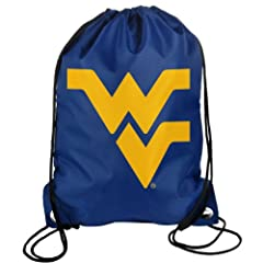 Buy Forever Collectibles NCAA West Virginia Mountaineers Drawstring Backpack by Forever Collectibles