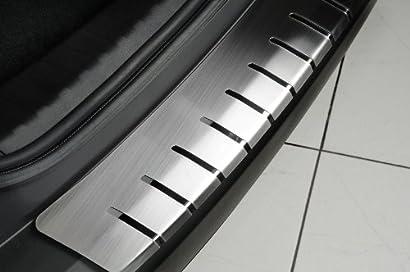teileplus24 L600 Ladekantenschutz aus V2A Edelstahl mit Abkantung Farbe:Silber gl/änzend