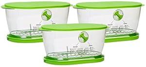 Prepworks from Progressive LKS-06 Lettuce Keeper(3 Pack) from Progressive International