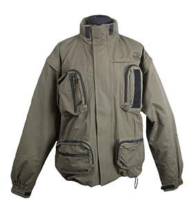 Fladen Khaki Jacket - Green, Medium