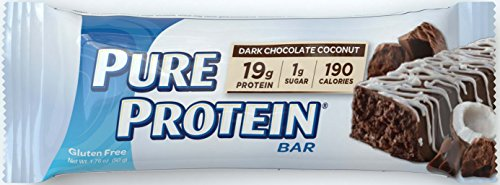 Pure Protein Dark Chocolate Coconut, 50 gram, 6 count (Protein Bars Low Carb compare prices)
