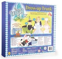 WIZARD OF OZ TRUNK SET - 28 pieces