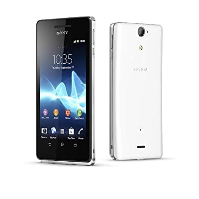 Sony Xperia V LT25i Unlocked 13MP Camera, 8GB Internal, Android OS - White
