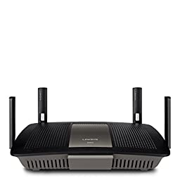 Linksys AC2400 4X4 Dual-Band Gigabit Wi-Fi Router, Optimal for HD Video Streaming and Lag-Free Gaming E8350 (Certified Refurbished)