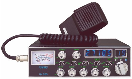 Galaxy DX-939 Backlit 40ch Mobile  CB Radio with TalkBack & Roger Beep