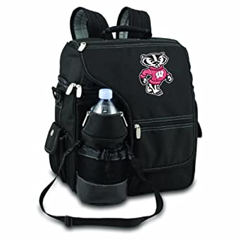 Picnic Time Turismo Wisconsin Badgers Print Backpacks