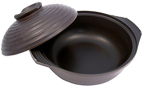 エコライン フィン底土鍋 はやなべさん 25cm KS-2667