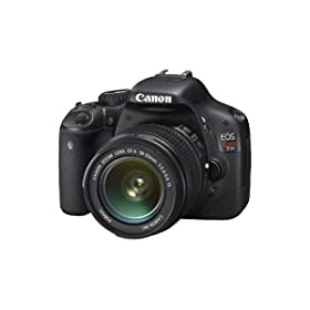 $647 Canon EOS Rebel T2i 18 MP CMOS APS-C Digital SLR Camera with 3.0-Inch LCD and EF-S 18-55mm f/3.5-5.6 IS Lens