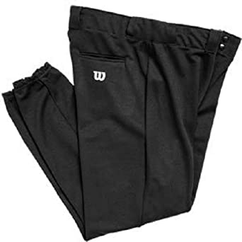 Buy Wilson Polyester Warp Knit Pants - 28 Inseam - Black by Wilson