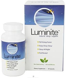 Luminite Natural Sleep Support Capsules, 30 Count