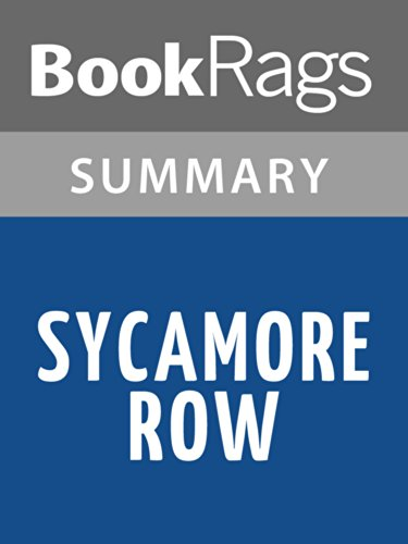 BookRags - Sycamore Row by John Grisham l Summary & Study Guide
