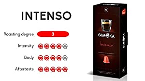 Find 100 Nespresso Compatible Coffee Capsules - Gimoka Coffee from Gimoka