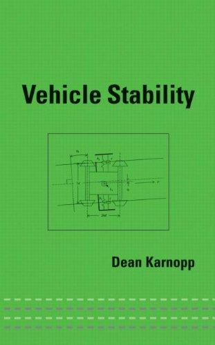 Vehicle Stability (Dekker Mechanical Engineering)