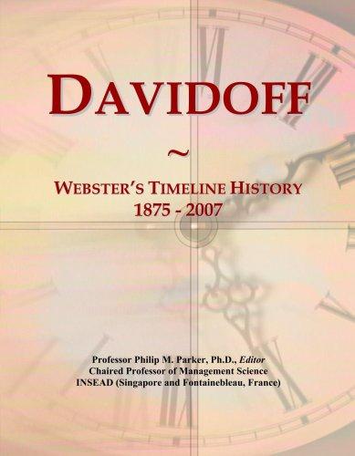 davidoff-websters-timeline-history-1875-2007