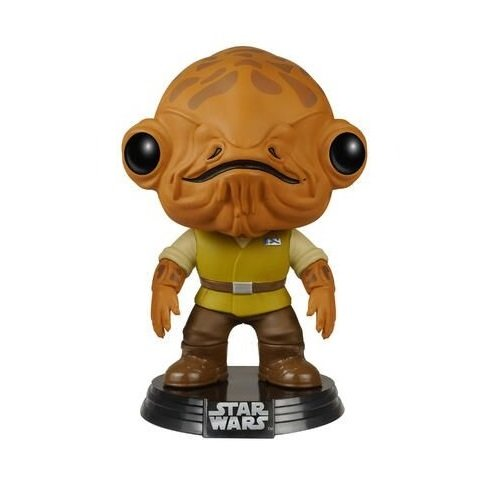 Funko - Figurine Star Wars Episode 7 - Admiral Ackbar Pop 10cm - 0849803065850