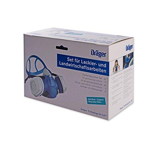 dr ger x plore 3300 lackierer set farbspritz halbmaske a2p3 filter ean 4026056005437. Black Bedroom Furniture Sets. Home Design Ideas