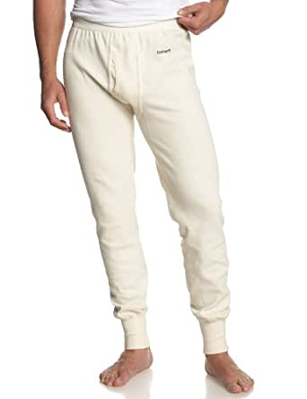 Carhartt Men's Heavyweight Cotton Thermal Bottom,Natural (Closeout),Medium Tall