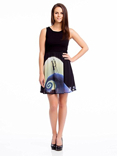The Nightmare Before Christmas Romantic Dress Abito nero XS
