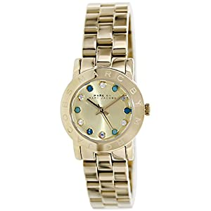 Marc by Marc Jacobs Amy Dexter Dial Gold-tone Ladies Watch MBM3218