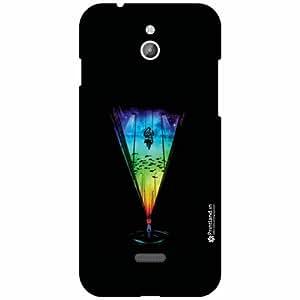 Infocus M2 Back Cover - Silicon Black Designer Cases