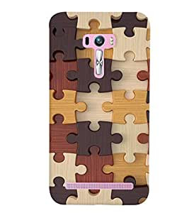 GADGET LOOKS PRINTED BACK COVER FOR Asus Zenfone Selfie ZD551KL MULTICOLOR